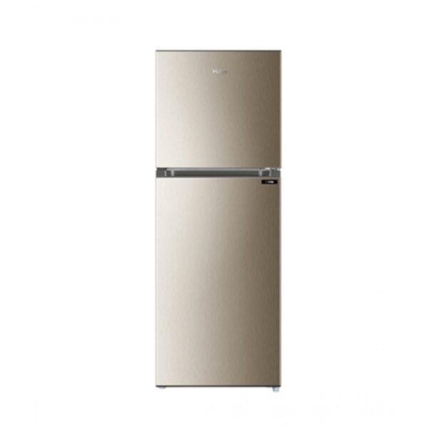 Haier golden metal refrigerator